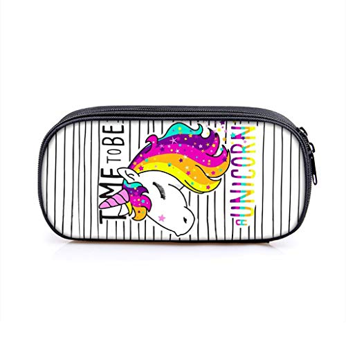 Formemory - Estuche lápices diseño unicornio, gran