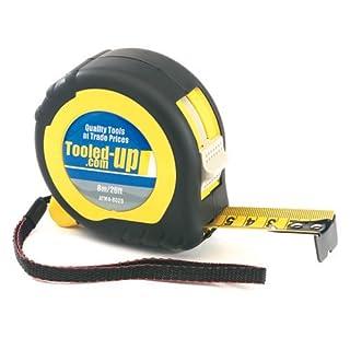 Pike & Co® [ATARAXY Branded] 8 Metre/25 Feet Tape Measure [Pack of 1] - Min 3yr Warranty