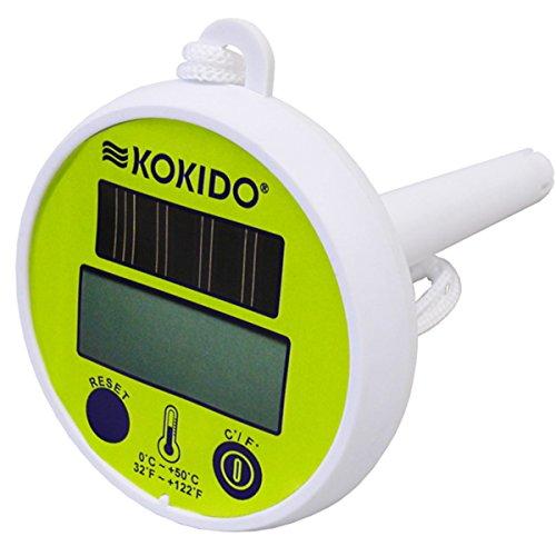 Kokido Design-O Termómetro Solar 31x10x40 cm