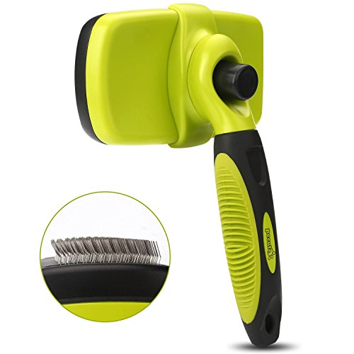 Pecute Zupfbürste Fellpflege Hundebürste für gesundes glänzendes Fell ohne Ziepen gegen Verfilzungen - 4