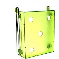 HuntGold Kreativ Bequem Zucken Kühlschrank Frisch Abstandsschicht Lagerregal Box - Grün