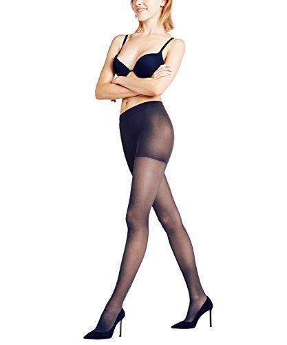 FALKE Damen Strumpfhosen Leg Energizer 30 den - 1 Paar, Gr. XL, blau marine, matt semi-blickdicht -