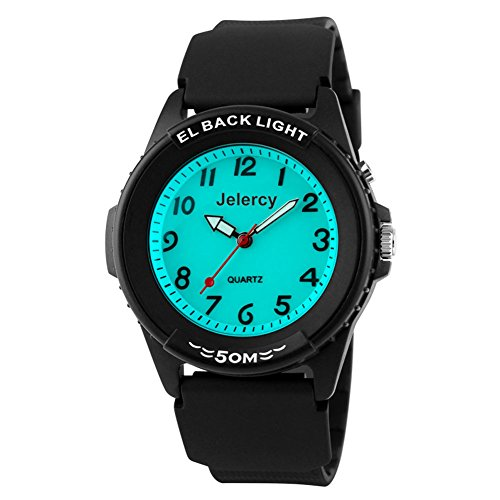 Kinder Armbanduhr Jungen Analog Wasserdicht Uhren Kinderuhren für Jungs und Mädchen