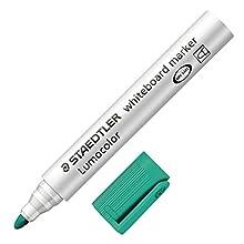Staedtler Whiteboard Marker with Round Tip - Green