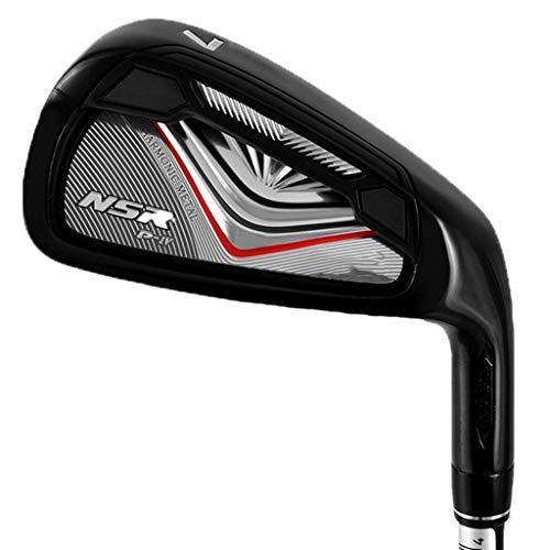 sxyp-golf Gummigriff GolfschläGer 7 Eisen, 938 Mm LäNge Herren GolfschläGer Carbonschaft Und Stahlschaft Outdoor Sport Und Freizeit