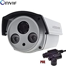 Elvy 720P : 48V IP Camera PoE Outdoor Full HD 720P/960P/1080P 2 Array IR LEDs IP Camera Security P2P ONVIF Waterproof PoE Cable