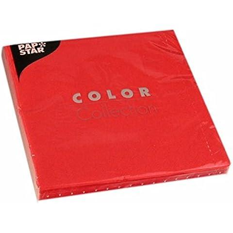 20 Servilletas, 3-capas Pliegue-1/4 40 cm x 40 cm rojo