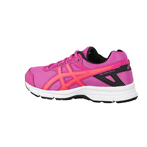 Asics Unisex-Kinder Gel Galaxy 9 Gs Laufschuhe SPORT PINK/FLASH CORAL/BLACK
