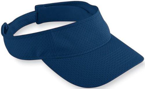Augusta Sportswear KIDS' ATHLETIC MESH VISOR OS NAVY (Augusta-mesh-visor)