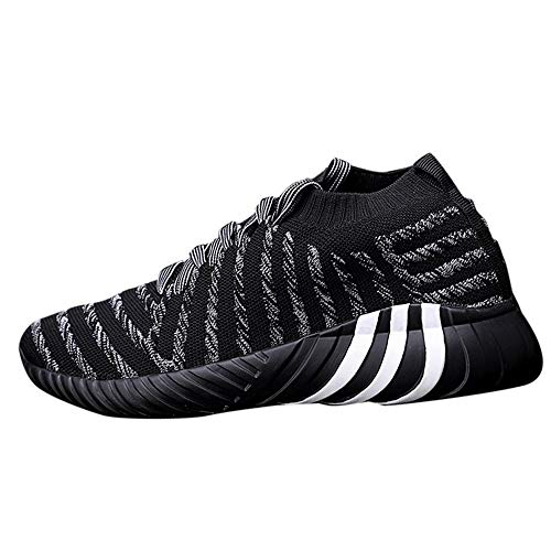 NIUQY Chaussures de Course Running Hommes Basket Mode Sneakers Fitness Gym athlétique Multisports Outdoor Casual 39EU-46EU
