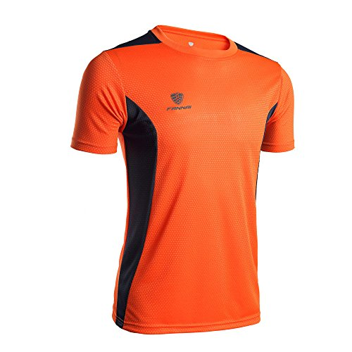 Celucke Coole Laufshirts Sport Funktionsshirt Herren mit Logo, Rundhals Kurzarm Fitness T-Shirt Performance Männer Kompressionsshirt Trainingsshirt Sportshirt Muskelshirt