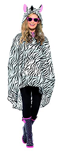 Party Poncho, Poncho mit Zugbeutel, One Size, 43893 ()