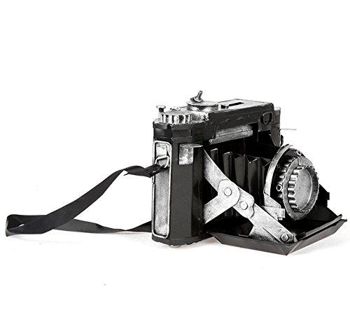 LD&P Handwerk retro Eisen zu tun, die alte Kamera Modell Fotografie Requisiten Ornamente Lieblings Liebhaber Hause Handwerk Bar Ornamente Display Fenster Display,A,20*16*15CM