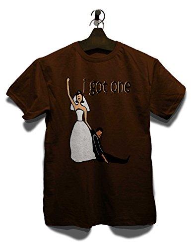 I Got One T-Shirt Braun