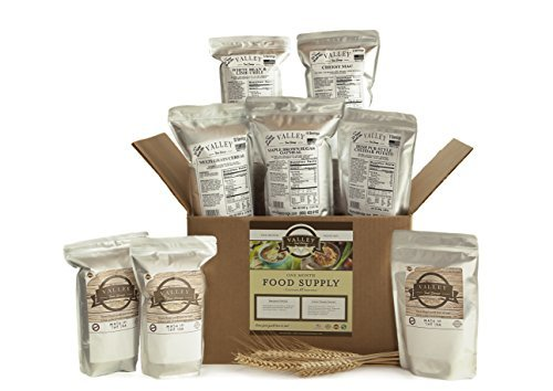 1 Month Value Long Term Pantry Supply of Freeze Dried Survival Food Kit for Emergency Preparedness - Valley Food Storage by Valley Food Storage
