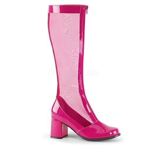 (3 7,62 Cm, Talon De Bobine, Gogo Pour Str. Pat, Résille, Avec Zip H.pink Str Pat-mesh