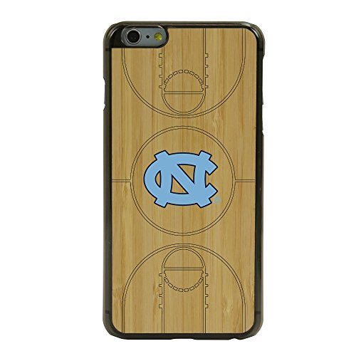 North Carolina Tar Heels Eco Light Court Case for iPhone 6 / 6s Plus with Guard Glass Screen Protector by Guard Dog Case Screen Guard