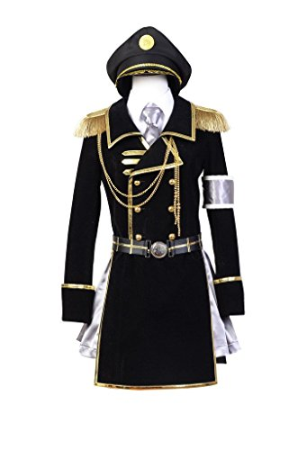 K Return of Kings Neko Military Uniform Cosplay Kostüm Damen (Neko K Kostüm Cosplay)