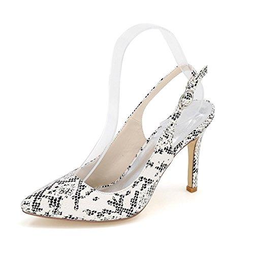 Blanc Couleurs Hauts Winter Femme Shoes Disponibles Evening La Wedding De YC autumn Plus Party De Talons L Pointed xnwBTqZCHp