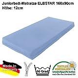 Dannenfelser Möbel® Matratze ELBSTAR Kindermatratze Juniormatratze für Juniorbetten 90x160cm Höhe: 12cm #14930