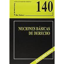 Nociones básicas de derecho (Materials didàctics)