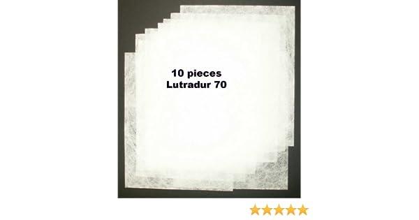 "Lutradur 70 pack of 10 sheets min 9/""x7/"""