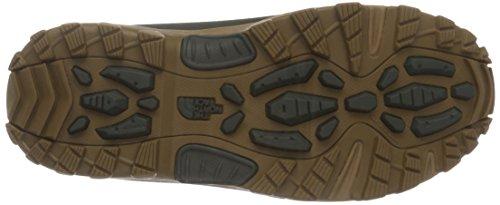 The North Face Hedgehog Hike Gore-tex, Bottes mi-hauteur non doublées homme Mehrfarbig (Bkinkgn/Dchsdbn T7H)