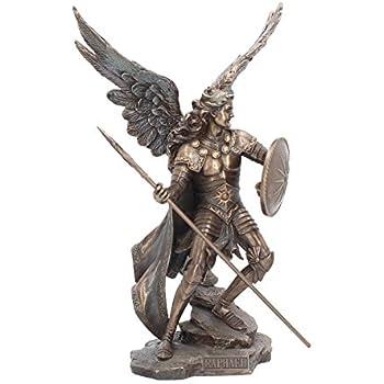 Unbekannt Zadkiel Ange de la G/ötttt/öten Figurine Sculpture dange Bronze