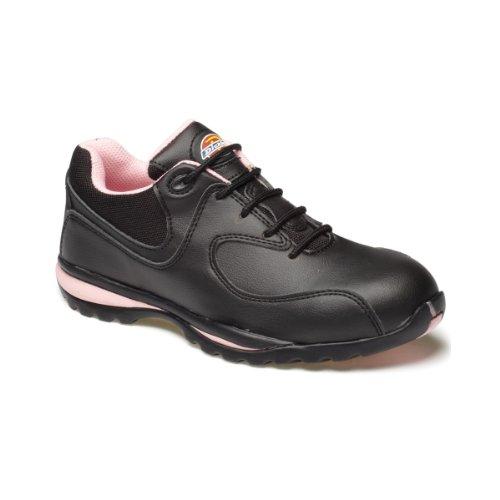 Dickies  Ohio,  Damen Sneaker , Mehrfarbig - Mehrfarbig - Schwarz/Rosa - Größe: 42