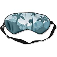 Comfortable Sleep Eyes Masks Palm Tree Printed Sleeping Mask For Travelling, Night Noon Nap, Mediation Or Yoga preisvergleich bei billige-tabletten.eu