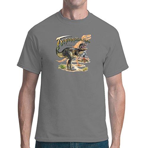 Fun unisex T-Shirt - Urzeit: Tyrannosaurus Rex by Im-Shirt Grau