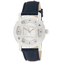 JBW Womens Quartz Watch, Analog Display and Leather Strap (Model: J6377C)
