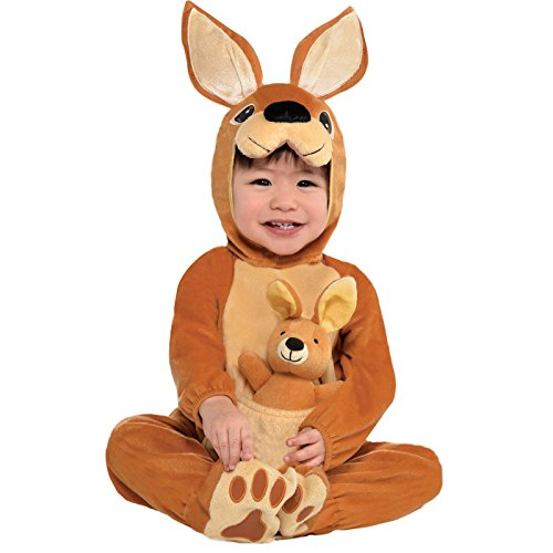 Jumpin 'Joey per costume canguro Childs Fancy Dress