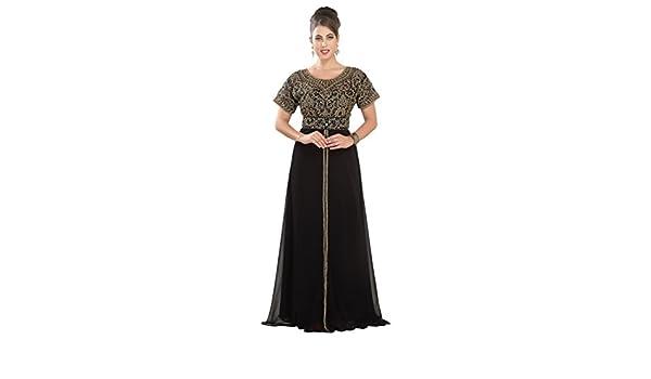 Maxim Creation - Robe - Femme noir noir  Amazon.fr  Vêtements et accessoires 817aba04637
