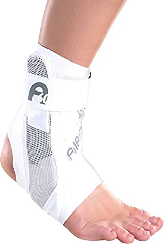 Aircast A60 Ankle Support Brace, Right Foot, White, Medium