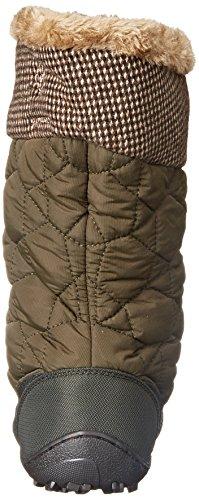 Columbia Minx Mid Ii Omni-heat Tweed, Bottes femme Vert (nori, Silver Sage 383)