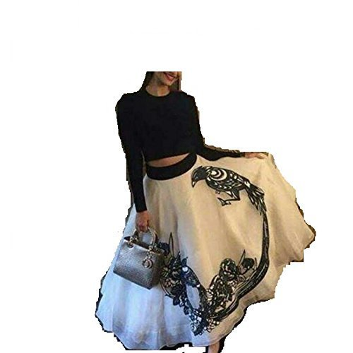 Marvadi Collection Women's Georgette Dress Material (White_Free Size)