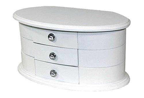 Funda-de-color-blanco-Joyero-de-madera-cajnarmarioJoyero-nuevo