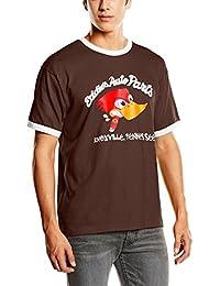 Coole-Fun-T-Shirts Eddies Auto Parts RINGER Men's T-Shirt