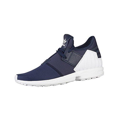 adidas - ZX Flux Plus - S79061 - Couleur: Bleu Marine-Blanc - Pointure: 36.6