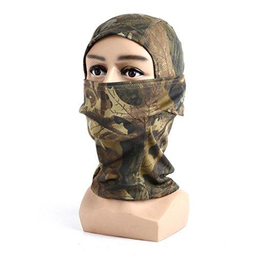 Sky ♥ ♥ Cap Motorrad Camouflage des Fussballball Motorrad Hüte der Maske für Gesicht voll, A (Maske Adult Voll Latex)