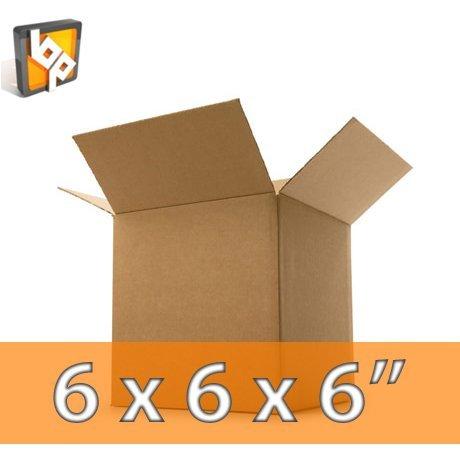 Lot de 50 cartons de déménagement Petit format 15,2 x 15,2 x 15,2 cm