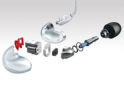 Shure SE846-CL-EFS High-End Sound Isolating In-Ear Monitor/Ohrhörer für die Bühne - 5