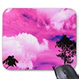 Gaming Mouse Pad s��e bunte Wolke Design f�r Desktop und Laptop 1 Pack 25x20cm / 9.8x7.9in Bild