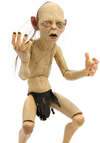 NECA - Lord of The Rings, Gollum & Smeagol: Smeagol, Figura 1/4 (NEC0NC30488) 3