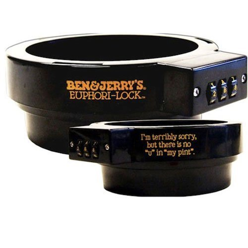 Ben & Jerry's Euphori-Lock Ice Cream Pint Combination Lock Protector by Ben & Jerry's