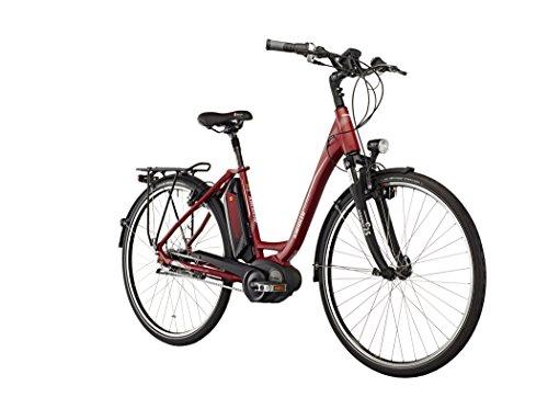 Kreidler vitalidad Eco 6 400 WH Rueda Libre señoras de la Onda Rojo Mate 2016 e-Bicicleta