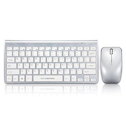 malloom g9800motospeed Farbe Gold Wireless Keyboard und Maus für MacBook
