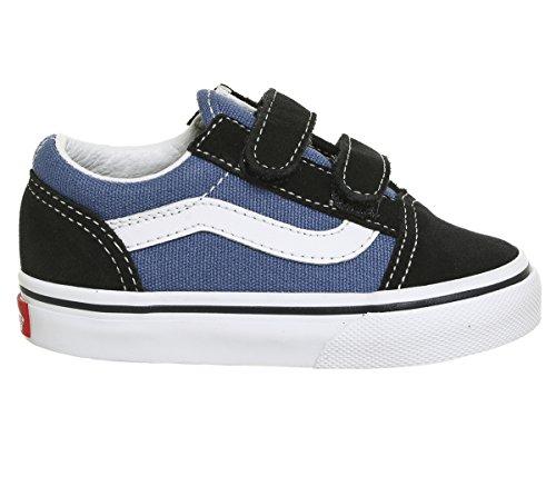 Vans Youth Old Skool V(VD3YNVY) - Navy - 3.5C (Sneakers Navy Jungen Old)