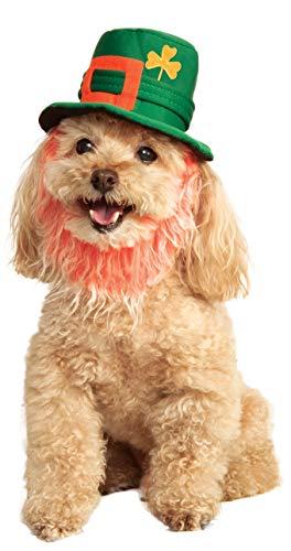 Rubies Costume Company St. Patty 's Day Pet Kostüm Hat mit (St Patty Day Kostüm)
